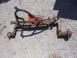 Allis Chalmers Ca Tractor Ac Original Adjustable Wide Front End Frontend W/ Hubs