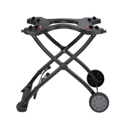 Weber Gas Grill Rolling Cart Stand Portable Rolling Wheels Q 1000/2000 Camping