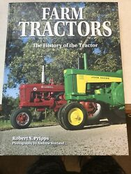 Farm Tractors The History Of The Tractor By Robert N. Pripps Preowned