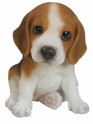 6.1quot; BEAGLE PUPPY FIGURINE LIFELIKE ANIMAL HOME AND GARDEN DECOR