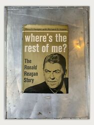 Whereand039s The Rest Of Me Signed Ronald Reagan Biography 1965 1st Ed. 3rd Pr.