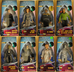 1997-1998 Star Trek Playmates Warp Factor 9 Doll/figure Collection-your Choice