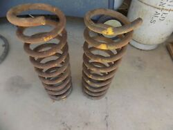 1971 Mercury Cyclone Front Coil Springs Spoiler Gt 351c 4v C6 A/c