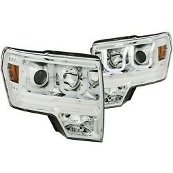 111352 Anzo Hid Headlight Lamp Driver And Passenger Side New For F150 Truck Lh Rh