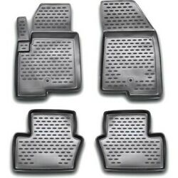 74-21-41004 Westin Floor Mats Front New Black For Jeep Compass 2007-2017