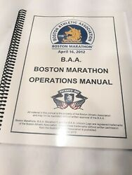 Boston Marathon Master Operations Manual For 2012 Pre Bombing City Wide Planning