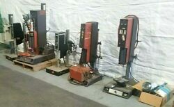 All 5 Ultrasonic Plastic Welders Branson And Others For Parts Only One Price