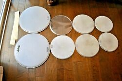 Ludwig Drum Heads 12/14/14/20 Ringo 1964 Collector Condition
