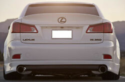 For Lexus Is250 Is220d Is350 Is-f 06-13 Wald Style Trunk Spoiler Primed