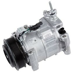 15-22319 Ac Delco A/c Compressor New For Chevy With Clutch Silverado 2500 Hd Gmc