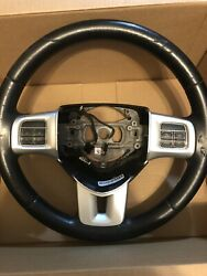 2011 2012 2013 2014 Dodge Charger Steering Wheel Leather Used See Pictures