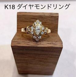 Special Price First Come First Served K18 Elegant Diamond Ring