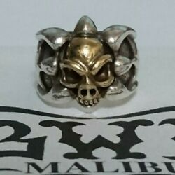 Bwl Bill Wall Leather Tribal Band Ring 18k Skull Including Shipping