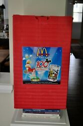 Disney 100 Years Of Magic Mcdonalds + Official Box + 2 Glasses + 2 Color Slides