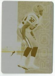 2007 Leaf Rookies And Stars Printing Plates Yellow 143 Fred Bennett 1/1