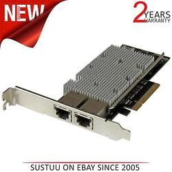 Startech 2-port Pci-e 10gbase-t Ethernet Network Card - With Intel X540 Chip
