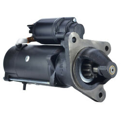 New 10 Tooth 12v Starter Fits Ford Tractor 5600 5610 6610 6710 6810 Tw-20 26189