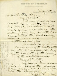 Henry Martyn Cist - Autograph Letter Signed 02/10/1888