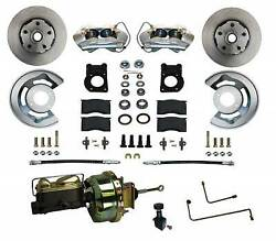 Leed Brakes Fc0001-h405a Disc Brake Conversion Kit-auto For 1964-66 Ford Mustang