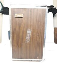 Vintage Coleman Westie Convertible Upright And Flat Ice Chest Cooler Brown Tan