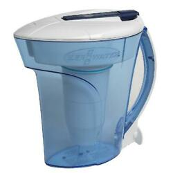 Zerowater® 10 Cup Ready-Pour® Filtered Pour-Through Water Pitcher