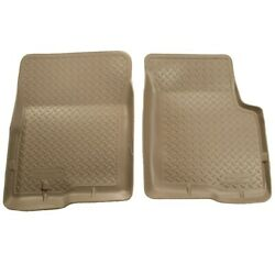 33003 Husky Liners Floor Mats Front New Tan For F150 Truck F250 F350 Ford F-150
