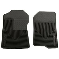 51021 Husky Liners Floor Mats Front New Black For F150 Truck Ford F-150 Lincoln
