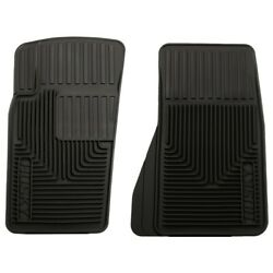 51081 Husky Liners Floor Mats Front New Black For Chevy Jeep Grand Cherokee