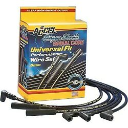 5040k Accel Spark Plug Wires Set Of 8 New For Country Courier Custom E150 Van