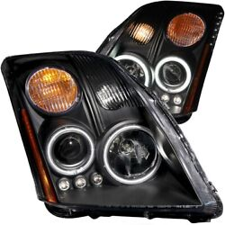 121276 Anzo Headlight Lamp Driver And Passenger Side New Lh Rh For Nissan Sentra