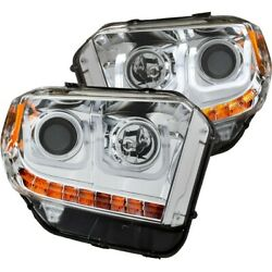 111327 Anzo Headlight Lamp Driver And Passenger Side New Lh Rh For Toyota Tundra