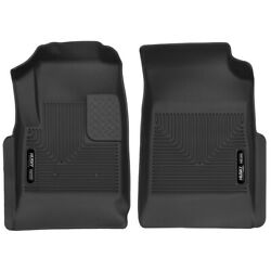 53121 Husky Liners Floor Mats Front New Black For Chevy Chevrolet Colorado Gmc