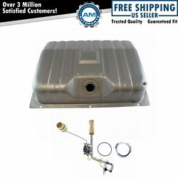 Fuel Gas Tank And Sending Unit Kit 20 Gallon W/ Drain Plug For Mustang Cougar