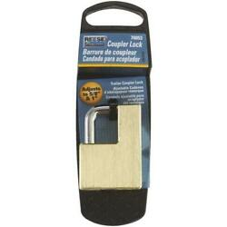 Reese Towpower Brass Adjusts 5/8 In. To 1 In. Latch Coupler Lock 3 Pk