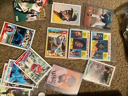 Rare 1950-1990s Baseball Cards Bundle Over 500 Cards + Cards Worth 50 And Up