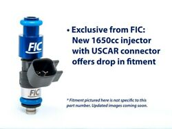 Fic Fuel Injector Clinic 1650cc Injectors - High-z For Chevy Ls2 Is302-1650h