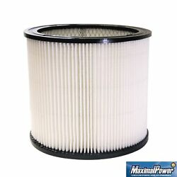 Maximalpower Replacement Filter For Shop-vac 90350 90304 90333 W/dusting Brush