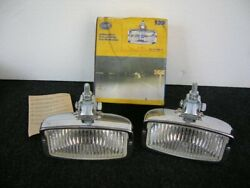 Nos Hella 139 Halogen Fog Lamps Fog Lights Porsche 911 Bmw Vw Mb Rally Germany