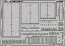 1/35 Armor- M26 Tool Boxes For Hbo 8591437311132