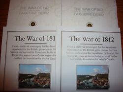 Great Holiday Gifts 2 Us Canada 1812 War Coin Collector Cards And Maps