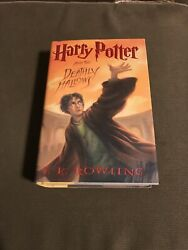 Scholastic Us Harry Potter And The Deathly Hallows By J. K. Rowling 2007...