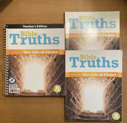 Bju 2 Students Pack— Bible Truths Learning From The Life Of Christ 4th Ed
