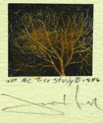 Frank Howelltree Study Ii Hand Signed Lithograph On Paper Make An Offer