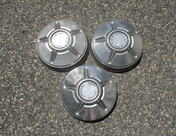 Genuine 1967 To 1970 Ford Falcon Dog Dish Hubcaps
