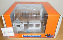 Lionel 6-84792 House Under Construction O Gauge Train Accessory Plug-expand-play