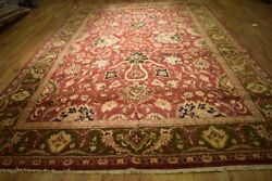 Traditional Rugandnbsp10x15 New Imported Vegetable Dyed Natural Wool La-52168