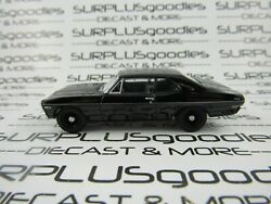 Greenlight 1:64 Scale LOOSE Murdered Out Black 1968 CHEVROLET NOVA Muscle Car