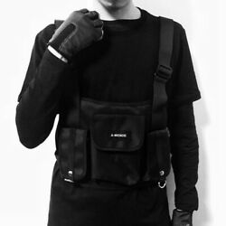 Men Boy Chest Bag Tactical Cross Shoulder Bag Radio Harness Chest Front Pack US $15.80