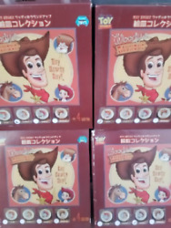Toy Story Pixar Roundup Picture Plate Woody Prospector Complete Set Rare Goods