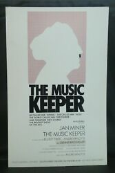 The Music Keeper Theater Broadway Window Card Poster 14 X 22